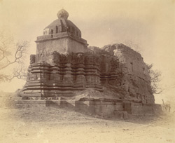 General view of a temple at Garkhed 10032122